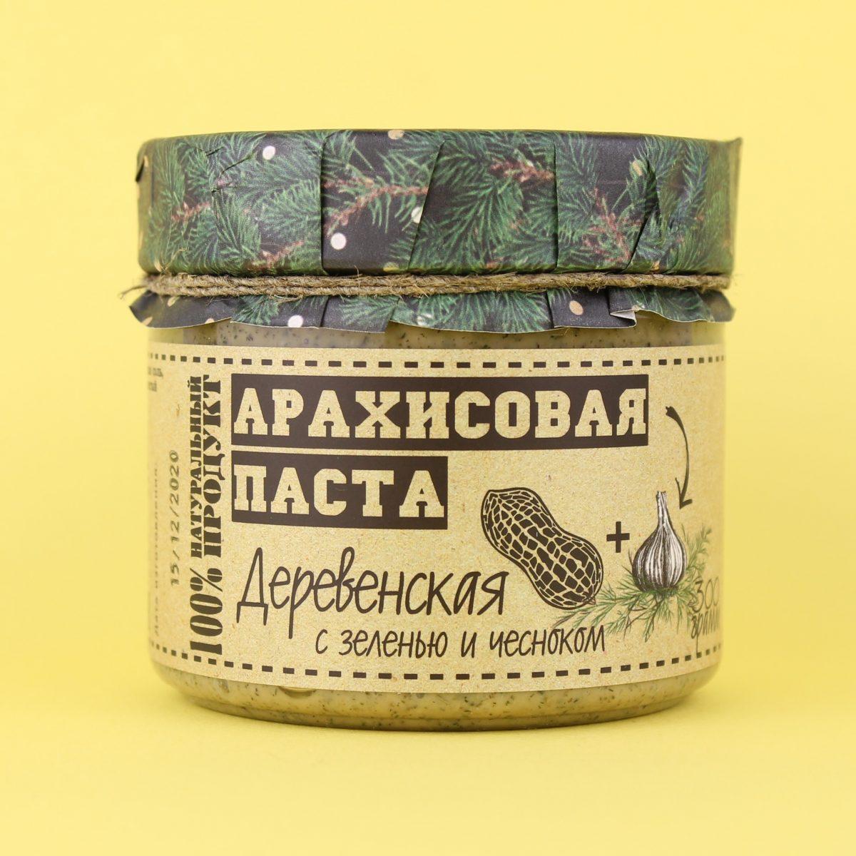 Паста арахисовая Деревенская