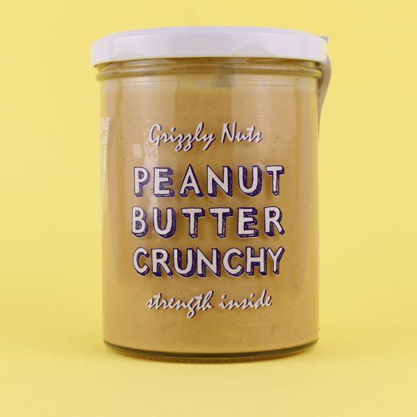 Паста арахисовая Crunchy (с кусочками арахиса)
