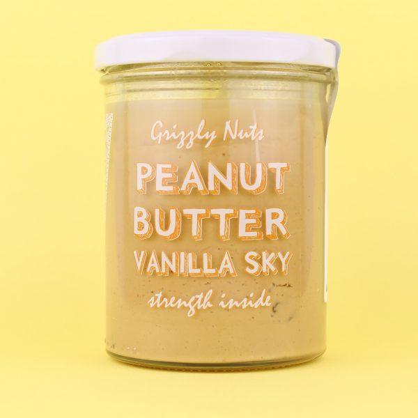 Паста арахисовая Vanilla sky (с ванилью и изюмом)