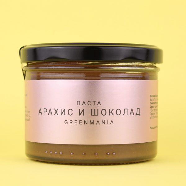 Паста Арахис и шоколад