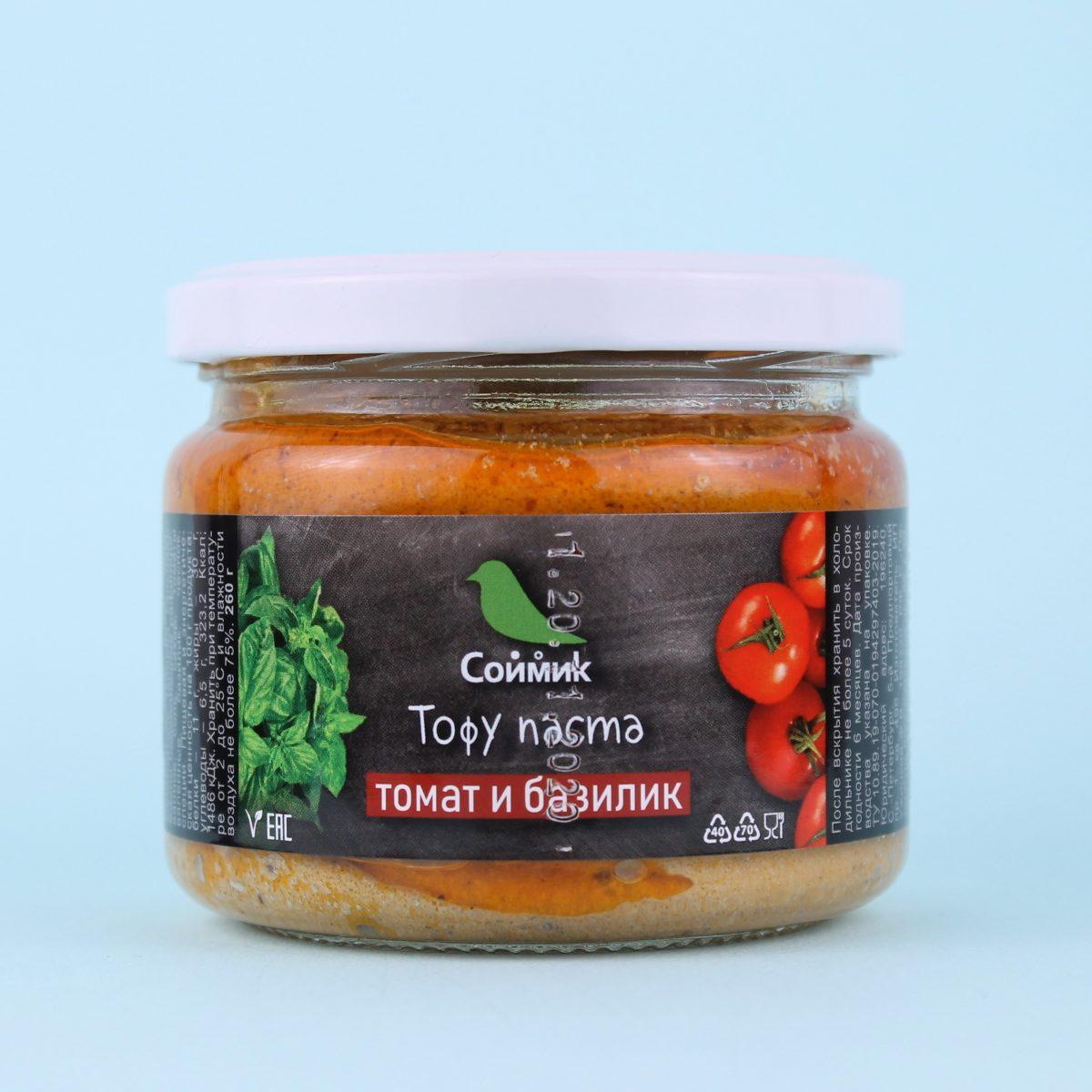 Тофу паста Томат-базилик