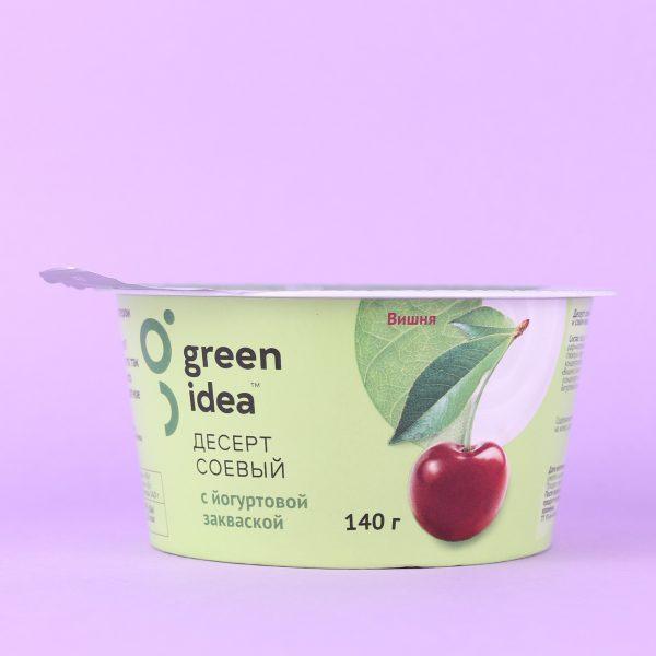Йогурт соевый Вишня