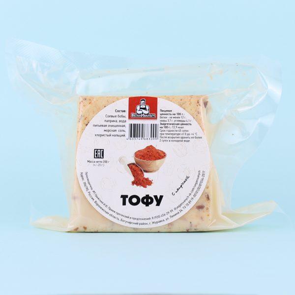 Тофу паприка