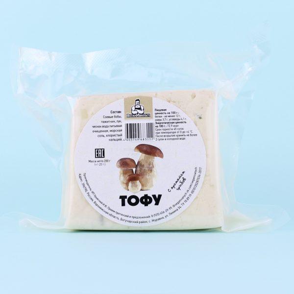 Тофу с ароматом грибов