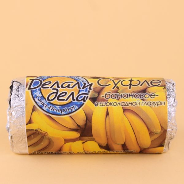 Суфле банановое