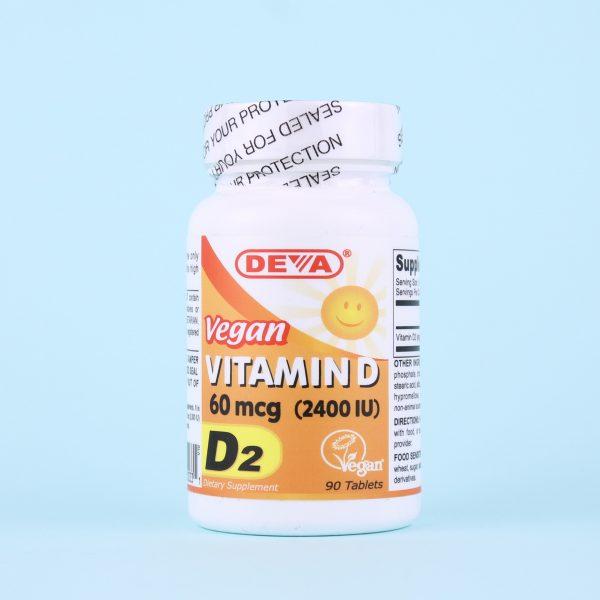 Витамины D2