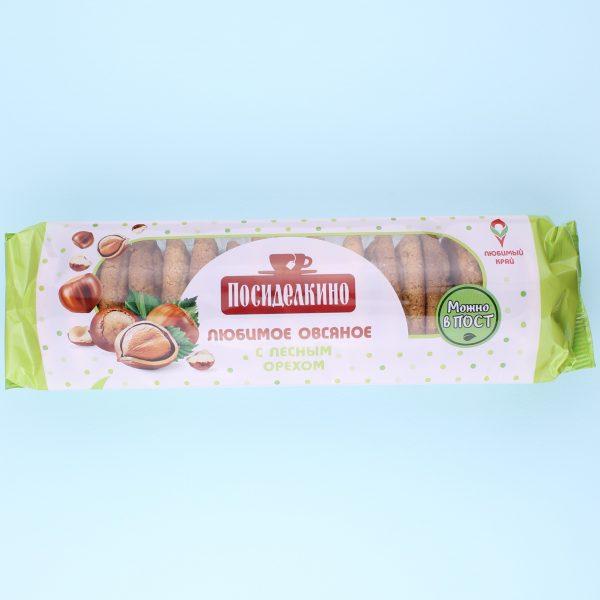 Печенье овсяное с фундуком