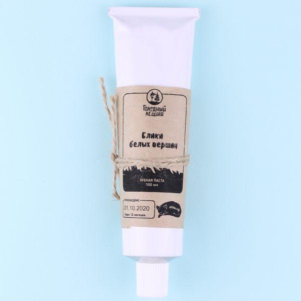 Зубная паста в тюбике Блики (мягко отбеливающая)