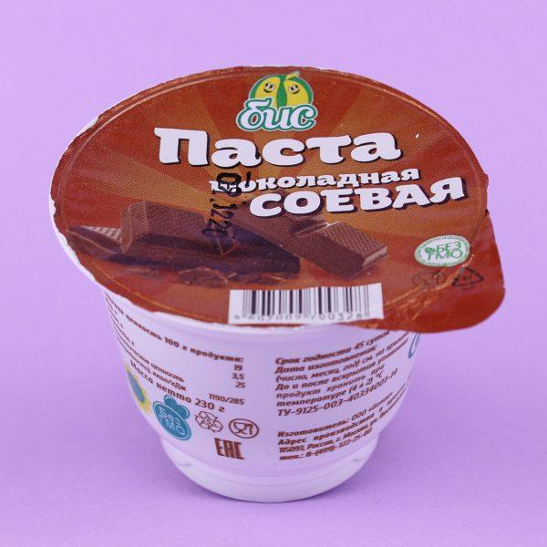 Паста соевая шоколадная