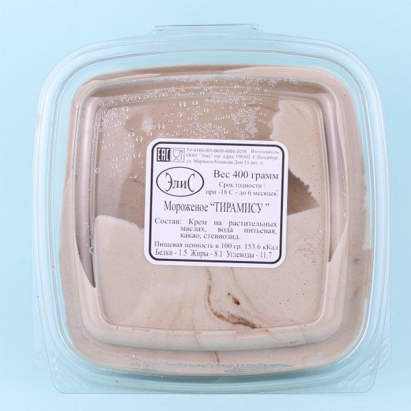 Мороженое ведро Тирамису (шоколадное)