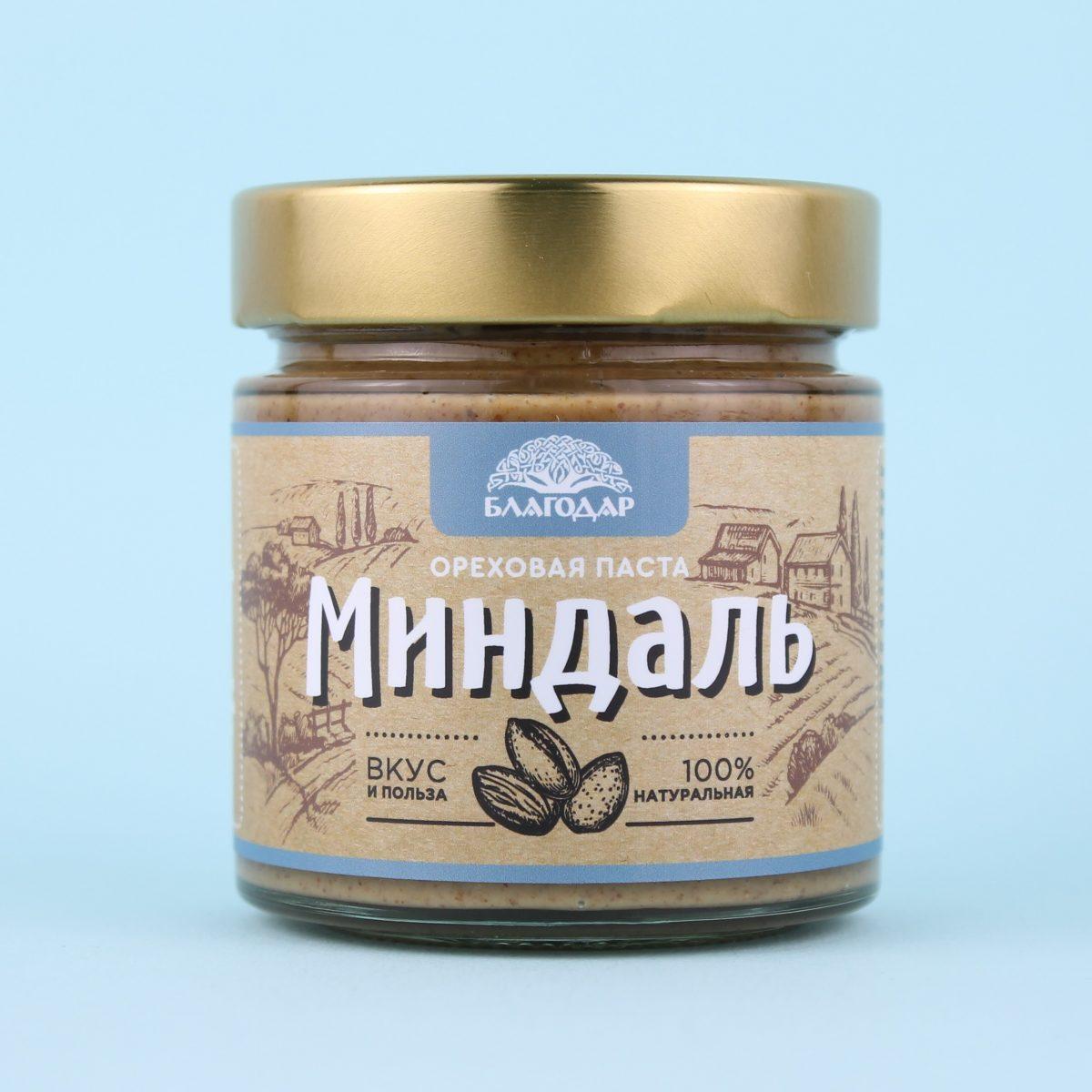 Паста ореховая Миндаль
