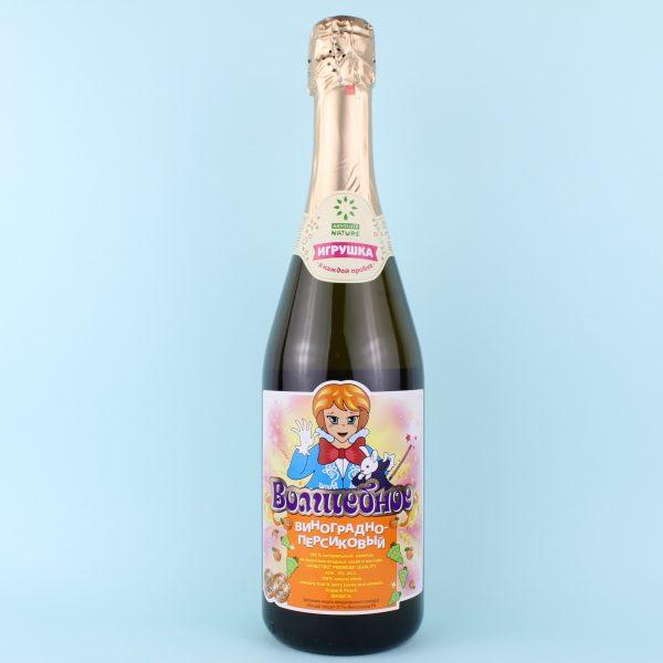 Шампанское виноградно-персиковое