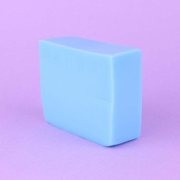 Мыло голубое с лавандой и ванилью (без упаковки)