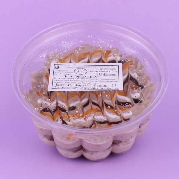 Торт Экзотика (ананас и карамель)